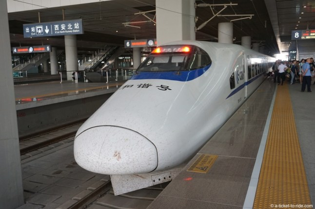 Chine, train express