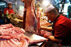 Chine, Xi'an, quartier musulman