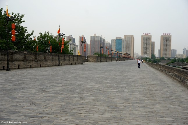 Chine, Xi'an, les remparts