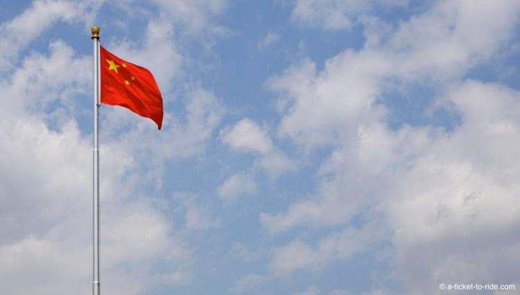 Chine, drapeau