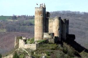 France, Aveyron, Najac