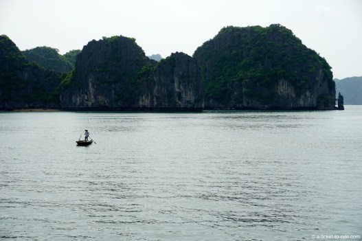 Vietnam, baie d'Halong