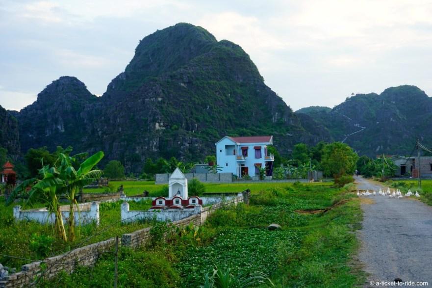 Vietnam, Tam Coc, payages karstiques