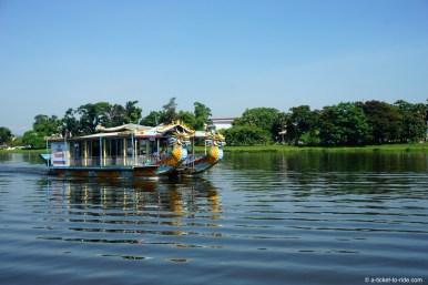 Vietnam, Hué, rivière des Parfums