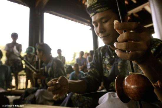 Vietnam, Hué, musiciens