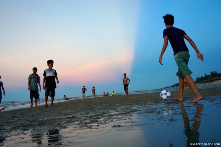 Vietnam, Hoi An, la plage
