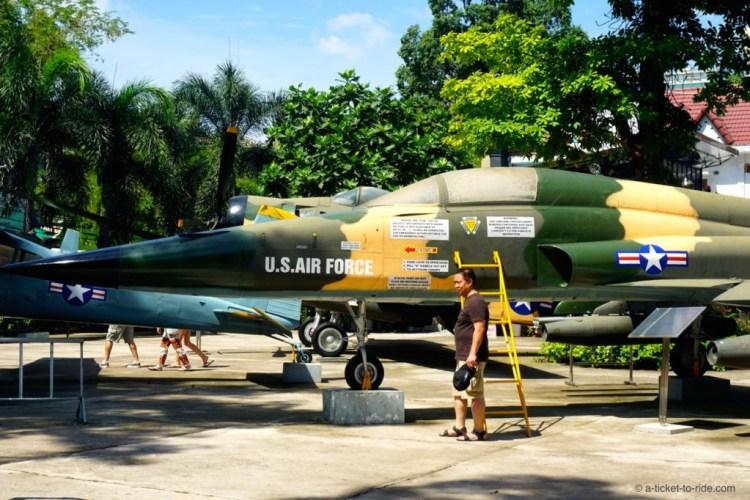 Vietnam, Saïgon, musée des Vestiges de guerre