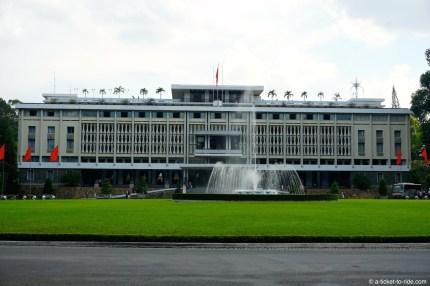 Vietnam, Saïgon, palais de la Réunification