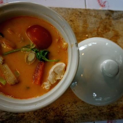 Thaïlande, Chiang Mai, poulet au lait de coco