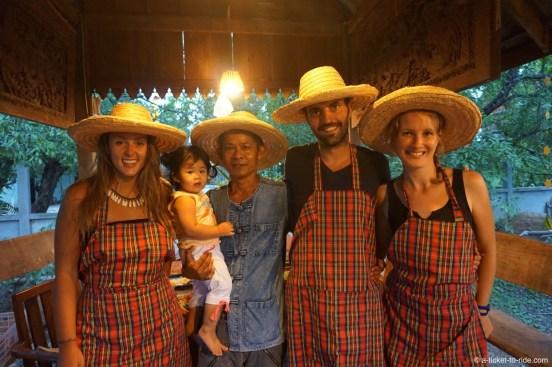 Thaïlande, Chiang Mai, apprentis cuisiniers