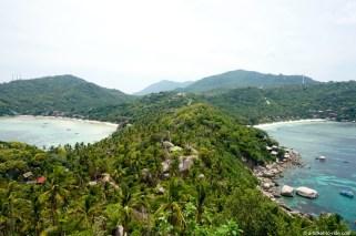 Thaïlande, Koh Tao, point de vue sud