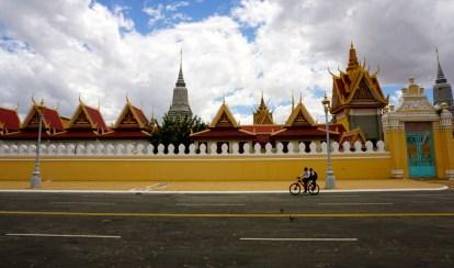 Vietnam, Phnom Penh, Palais royal