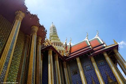 Thaïlande, Bangkok, wat Phra Kaew