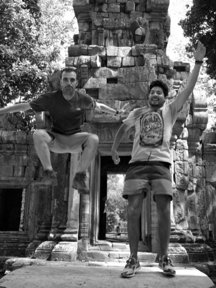Cambodge, Angkor, sautez ! ©Oniralama