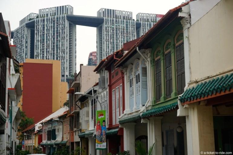 Singapour, architecture
