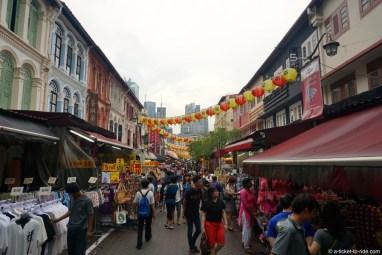 Singapour, China Town