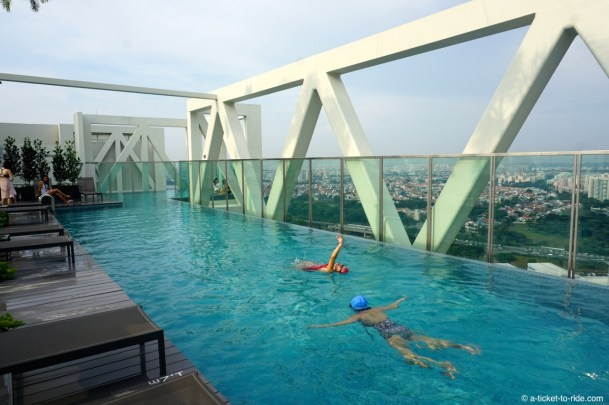 Singapour, roof pool