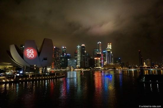 Singapour, Marina Bay