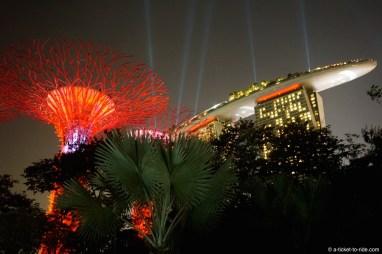 Singapour, Hotel Marina bay sands
