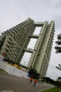 Singapour, building