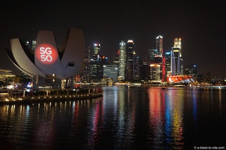 Singapour, skyline