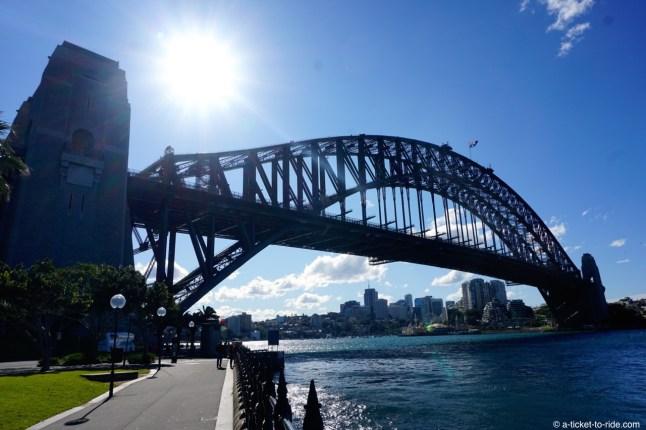 Australie, Sydney, Harbour bridge
