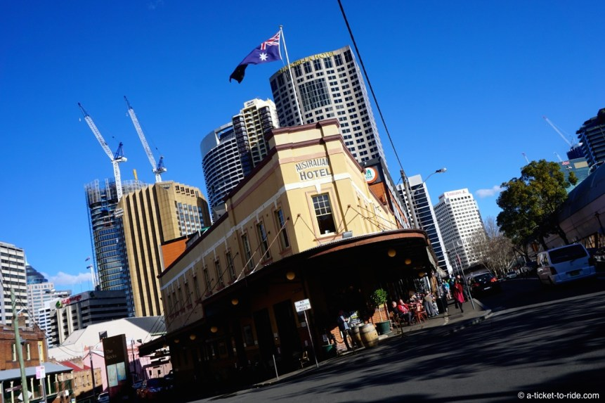 Australie, Sydney, Australian Hotel