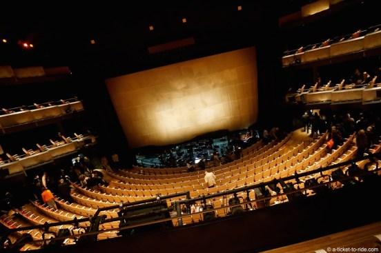 Australie, Sydney, opéra, la grande salle