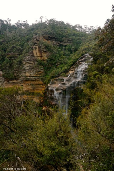 Australie, Blue Mountains, Wentwoth falls