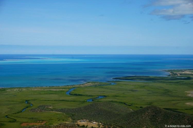 Nouvelle-Calédonie, point de vue du Cœeur de Voh