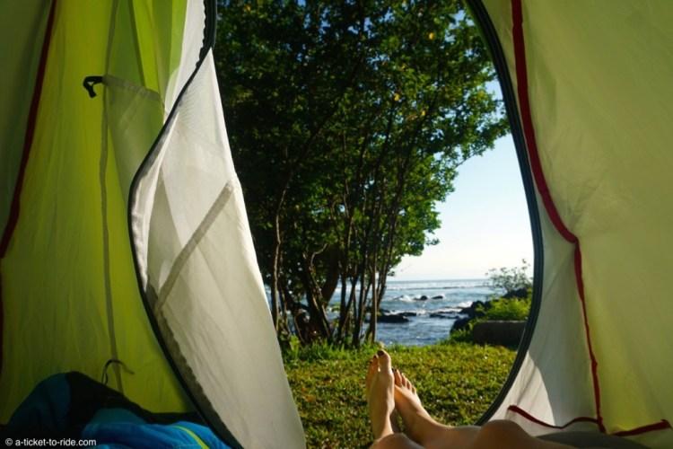 Nouvelle-Calédonie, les joies du camping