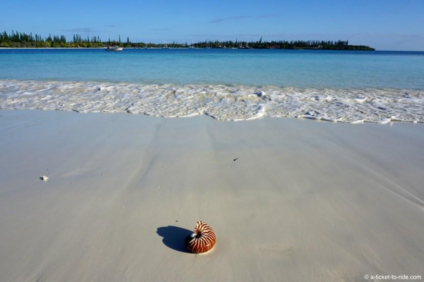 Nouvelle-Calédonie, Île des Pins, plage de Kuto