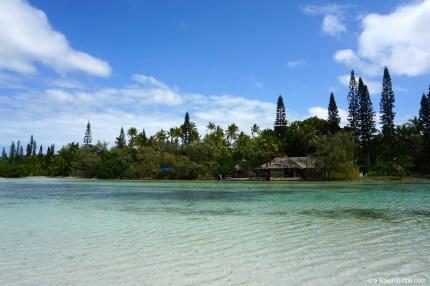 Nouvelle-Calédonie, Île des Pins, baie d'Or