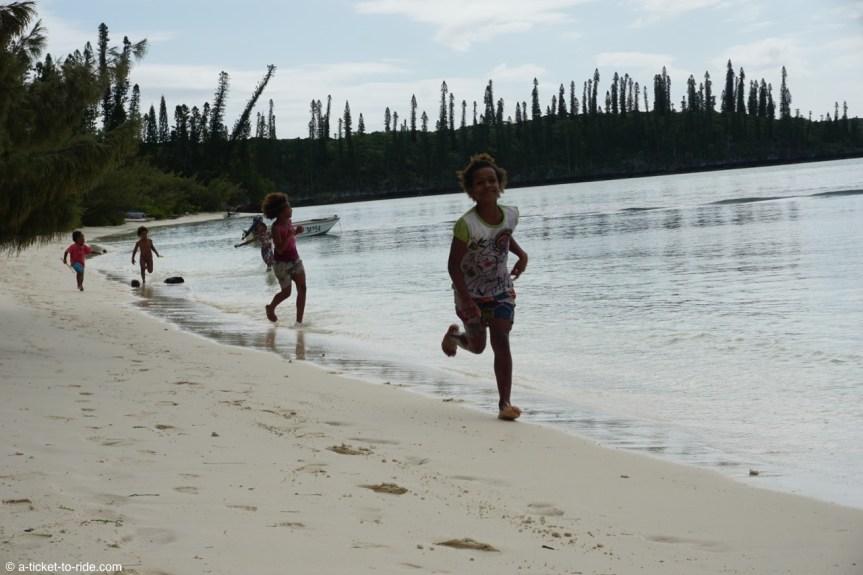 Nouvelle-Calédonie, Île des Pins, baie d'Oro