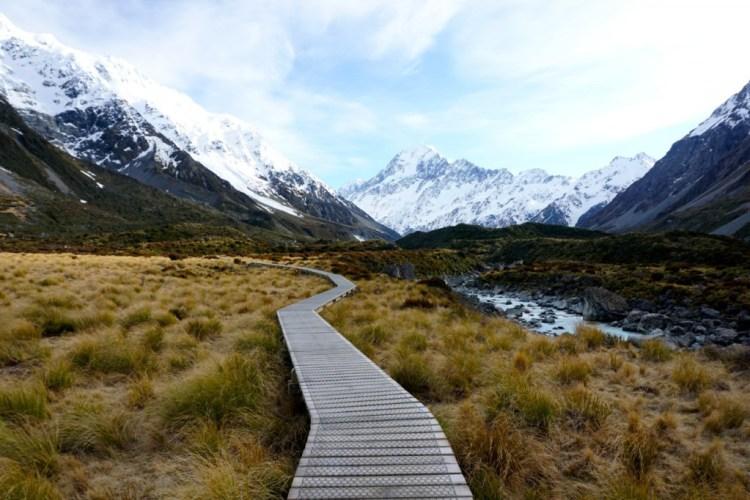 Team Éco'green, Nouvelle-Zélande, Mont Cook