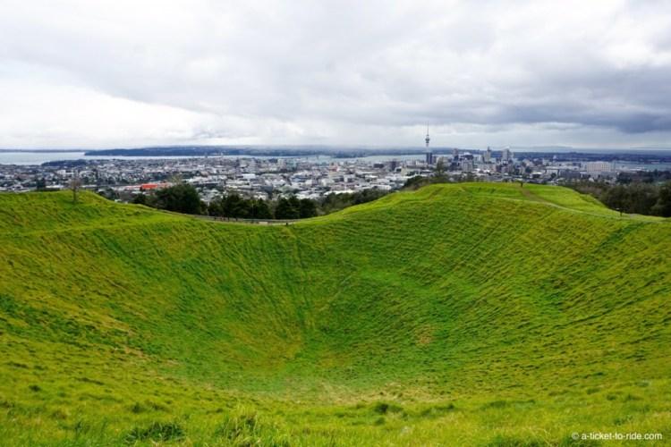 Nouvelle-Zélande, Auckland, mont Eden