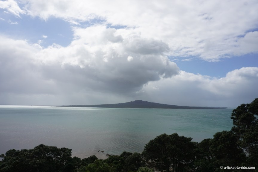 Nouvelle-Zélande, Auckland, volcan Rangitoto