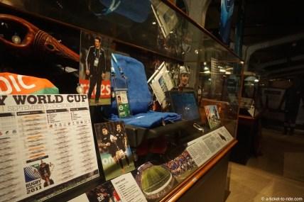 Nouvelle-Zélande, Palmerton North, musée du rugby