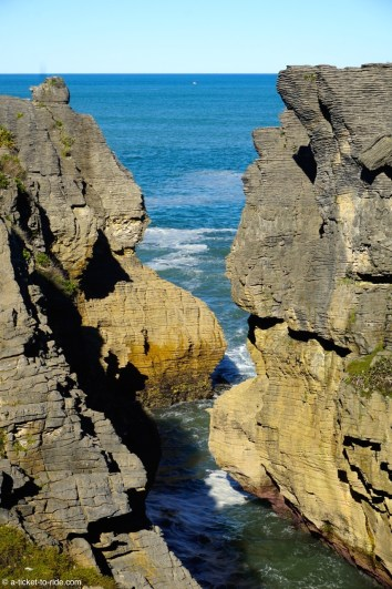 Nouvelle-Zélande, Pancake rocks