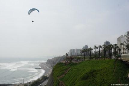 Pérou, Lima, corniche
