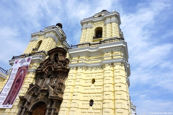 Pérou, Lima, basilique Saint-François-d'Assise