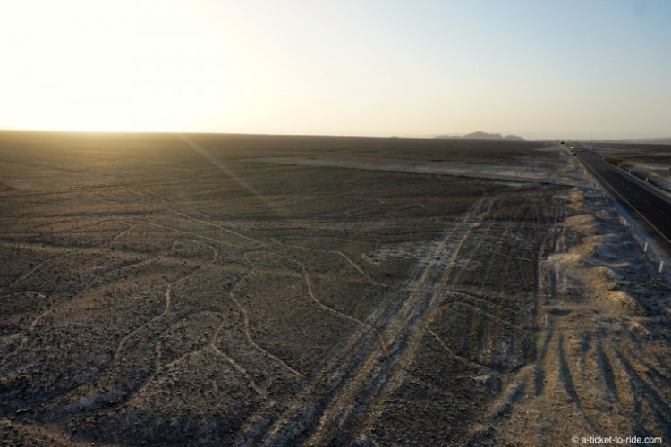 Pérou, Nazca, depuis le mirador