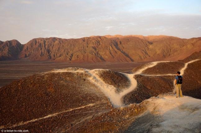 Pérou, Nazca, depuis le monticule