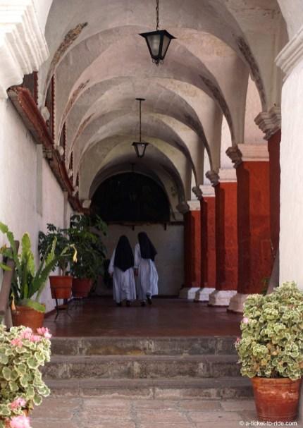 Pérou, Arequipa, monastère de Sainte Catherine