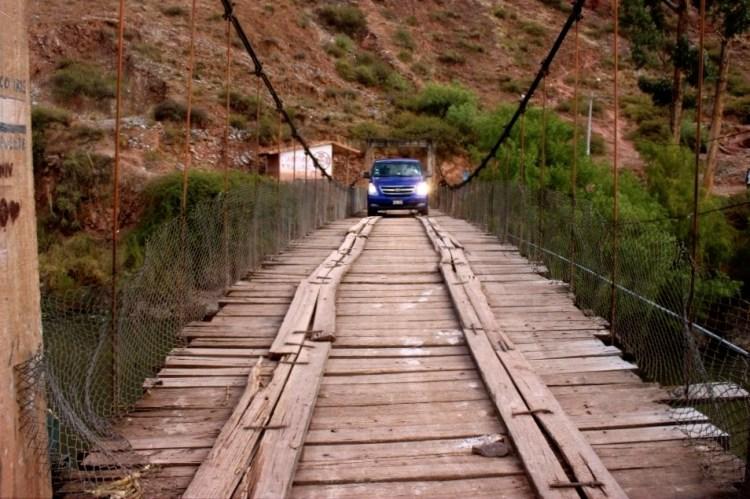 Pérou, sur le pont