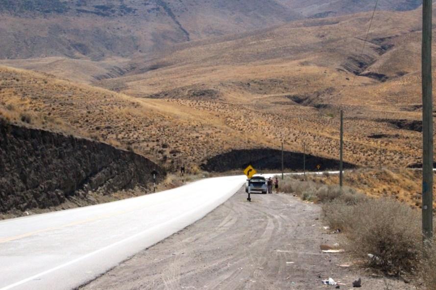 Conduire au Pérou, panne sur l'Altiplano