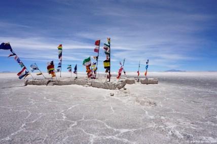 Bolivie, Salar d'Uyuni, près du musée de sel