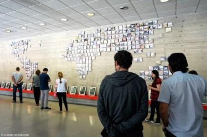 Chili, Santiago, musée de la Mémoire et des Droits de l'Homme