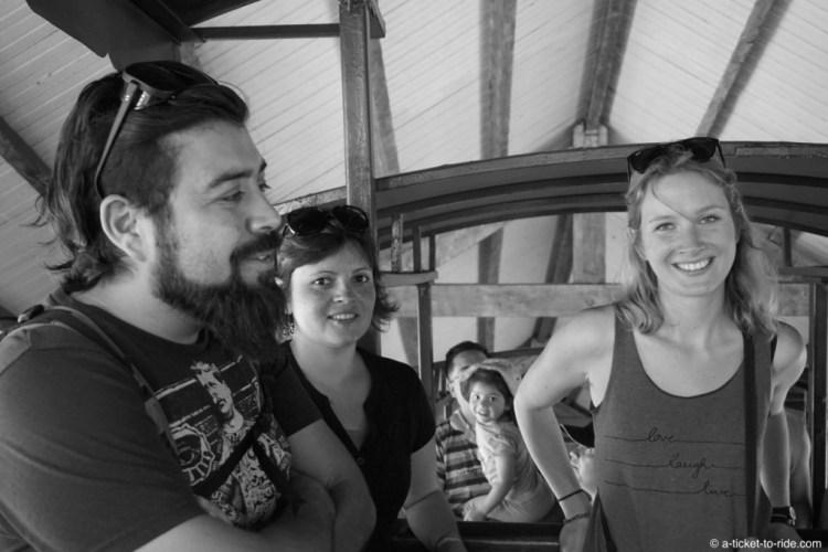 Chili, Santiago, avec Daniel et Barbara