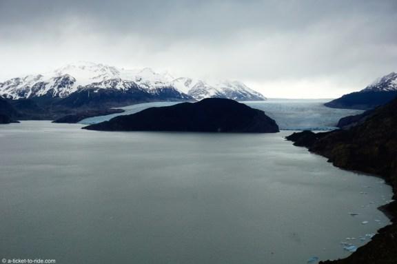 Chili, Torres del Paine, glacier Grey, jour 1